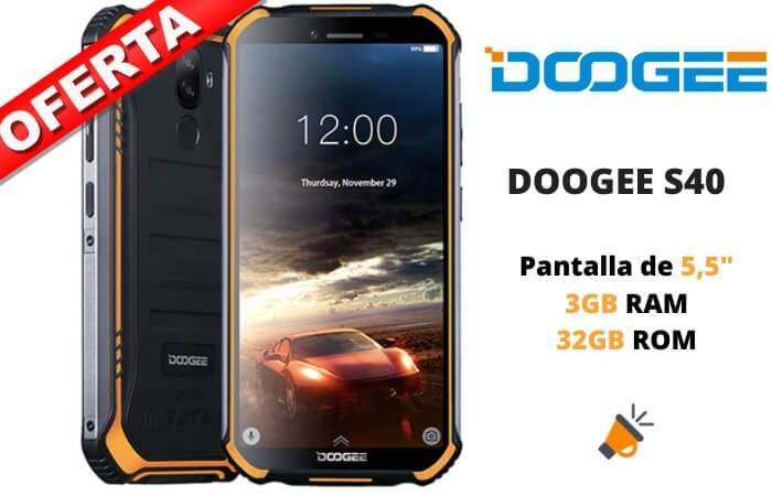 oferta DOOGEE S40 barato SuperChollos