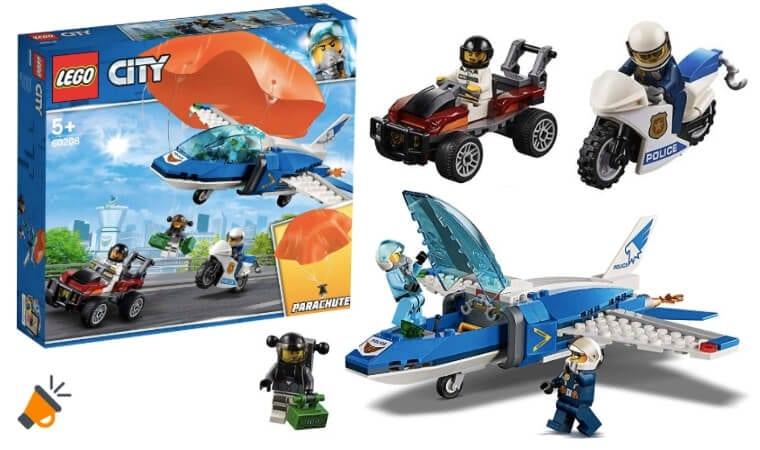 oferta Arresto del Ladro%CC%81n Paracaidista de LEGO barato SuperChollos