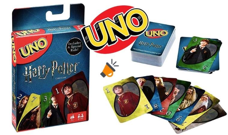 oferta UNO Harry Potter barata SuperChollos
