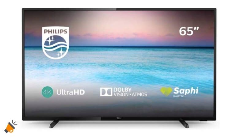 oferta Smart TV Philips 65PUS650412 barata SuperChollos