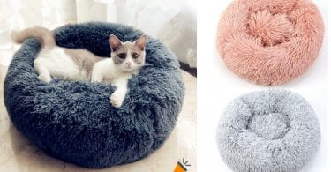 oferta Cama tipo nido para mascotas barata SuperChollos