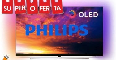 oferta Smart TV Philips 55OLED854 barata SuperChollos