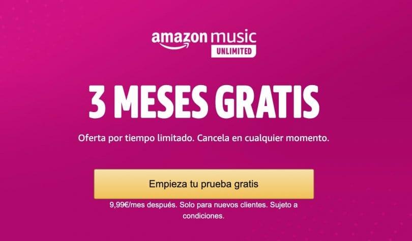 3 meses gratis amazon music unlimited abril 2020 superchollos SuperChollos
