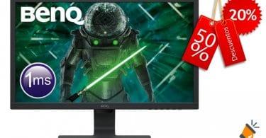 oferta BenQ GL2480 Monitor Gaming barato SuperChollos