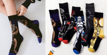 oferta Calcetines con disen%CC%83os de Star Wars baratos SuperChollos