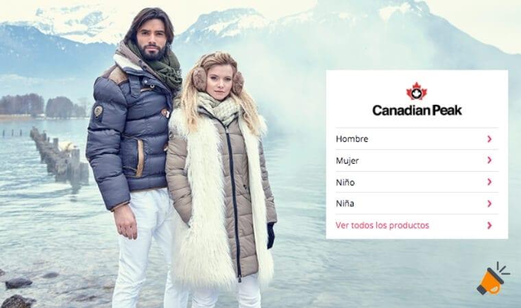 OUTLET CANADIAN PEAK SuperChollos