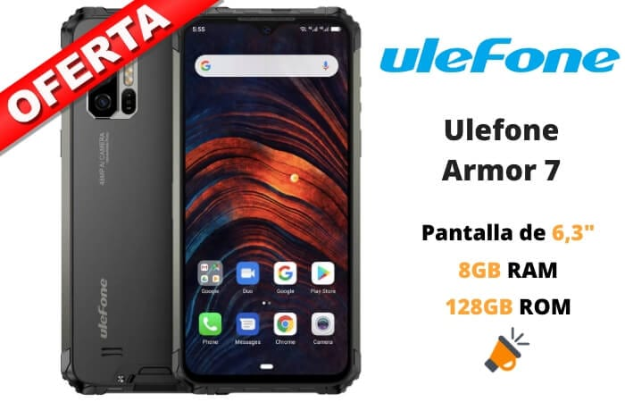 oferta Ulefone Armor 7 barato SuperChollos