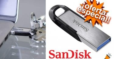oferta SanDisk Ultra Flair 256gb barata SuperChollos