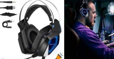 oferta Mbuynow Auriculares gaming baratos SuperChollos