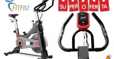 oferta Bicicleta spinning Fitfiu BESP 50 barata SuperChollos