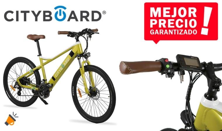 oferta Cityboard E Tui Bicicleta Ele%CC%81ctrica barata SuperChollos