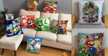 oferta Fundas de coji%CC%81n Super Mario Bros baratas SuperChollos