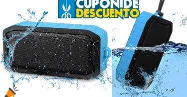 oferta Altavoz impermeable Bluetooth Mbuynow barato SuperChollos