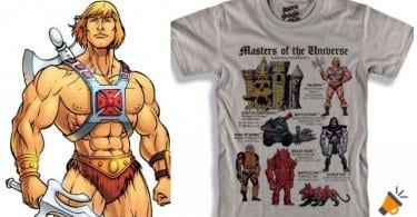 oferta Camiseta de He Man barata SuperChollos