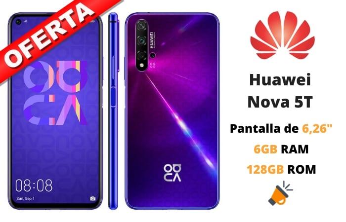 OFERTA Huawei Nova 5T BARATO SuperChollos