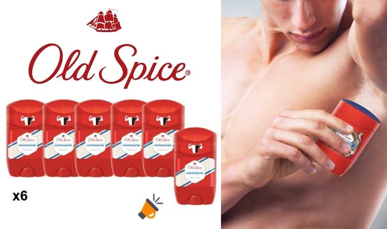 oferta Old Spice Whitewater desodorante barato SuperChollos