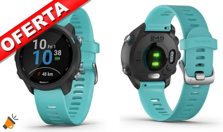 AHORA + BARATO! Reloj GPS Garmin Forerunner 245M Music por 248€