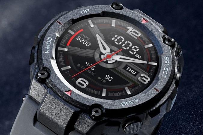 Smartwatch Amazfit T REX barato SuperChollos