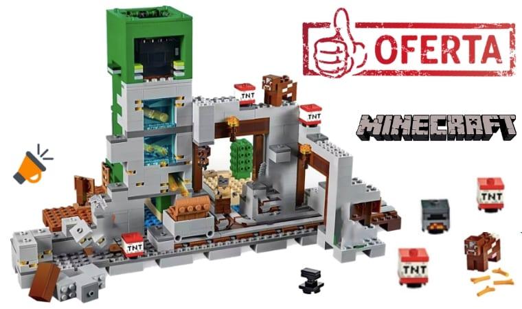 oferta La Mina del Creeper de Minecraft barato SuperChollos