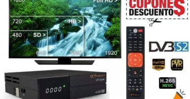 OFERTA GT Media V9 Super DVB S2 Receptor de TV BARATO SuperChollos