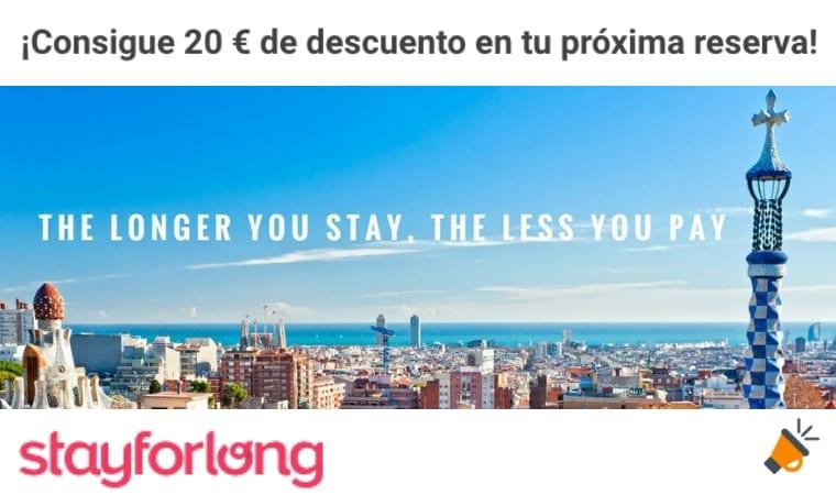 oferta vacaciones stayforlong SuperChollos