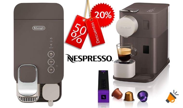 oferta Nespresso EN500BW cafetera barata SuperChollos