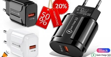 oferta cargador USB Udyr barata SuperChollos