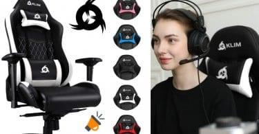 oferta KLIM%E2%84%A2 Esports Silla Gaming barata SuperChollos