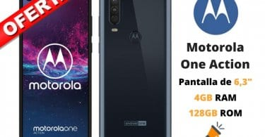 oferta Motorola One Action barato SuperChollos