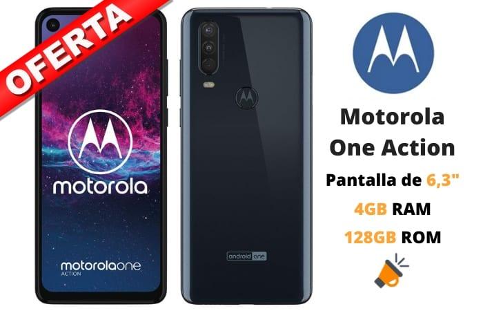 oferta Motorola One Action barato SuperChollos