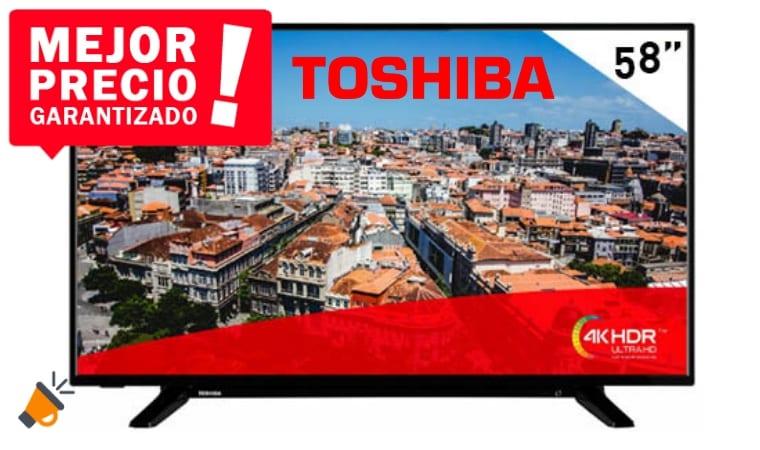 oferta Smart TV Toshiba 58U2963Dg barata SuperChollos