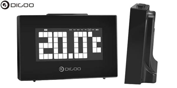 reloj despertador temperatura digital chollo SuperChollos