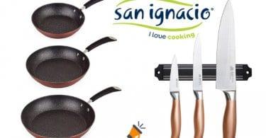 oferta San Ignacio PK1681 Set de sartenes barato SuperChollos
