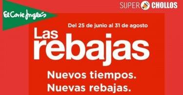 REBAJAS EL CORTE INGLES SuperChollos