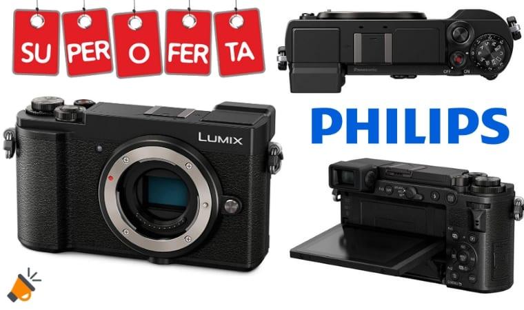 oferta Panasonic Lumix DC GX9 Ca%CC%81mara Evil barata SuperChollos