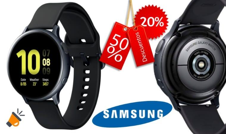 oferta Samsung Galaxy Watch Active 2 barato SuperChollos