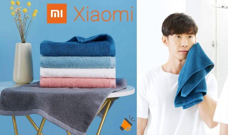 oferta Toalla de mano Xiaomi Mijia barata SuperChollos