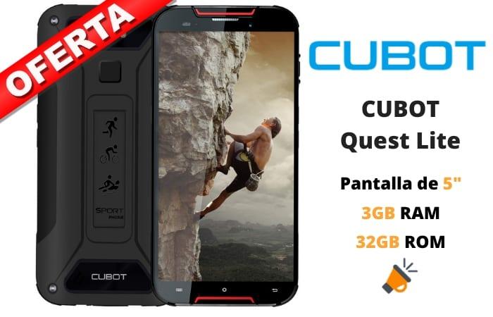 oferta CUBOT Quest Lite barato SuperChollos