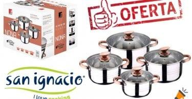OFERTA San Ignacio Premium Nona Bateria de cocina BARATA SuperChollos