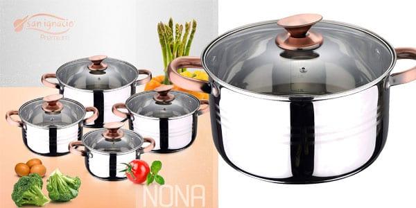 Bateri%CC%81a de cocina San Ignacio Nona barata SuperChollos