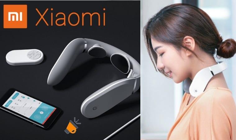 oferta Xiaomi Jeeback Neck Massager G2 masajeador barato SuperChollos