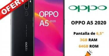 oferta OPPO A5 2020 barato SuperChollos