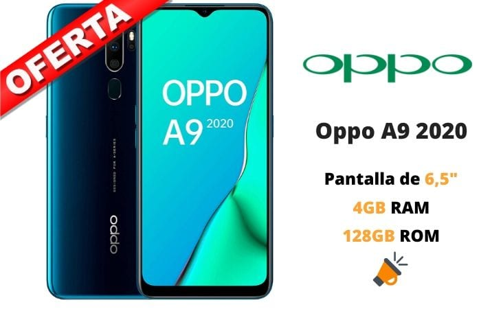 oferta Oppo A9 2020 barato SuperChollos