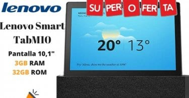 oferta Lenovo Smart TabM10 Tablet barata SuperChollos