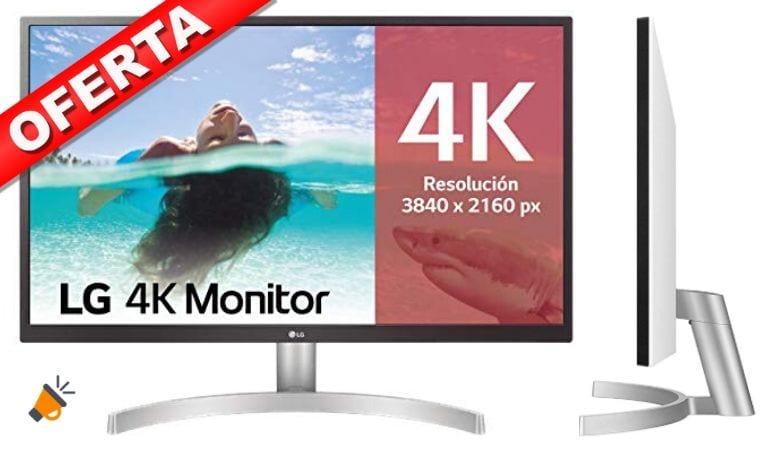 oferta LG 27UL500 W Monitor barato SuperChollos