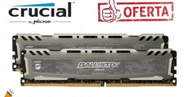 oferta Pack memoria RAM Ballistix barato SuperChollos