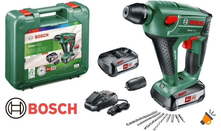 oferta Bosch UneoMaxx Martillo perforador barato SuperChollos