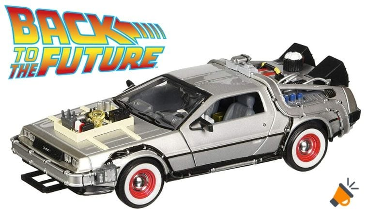 oferta DeLorean de Regreso al Futuro barato SuperChollos