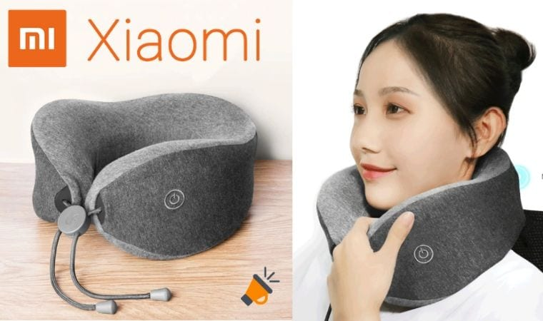 oferta Almohada masajeadora Xiaomi Mijia barata SuperChollos