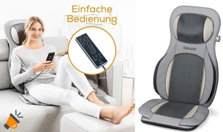 oferta Beurer MG 320 asiento de masaje barato SuperChollos